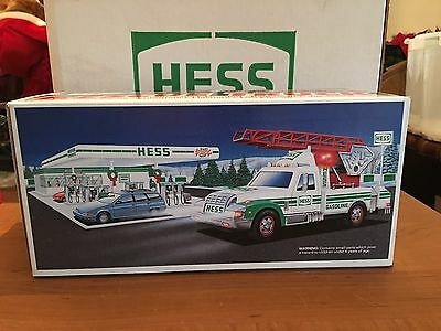 New Fresh From Case Never Opened 1 1994 Hess Rescue Truck MIB