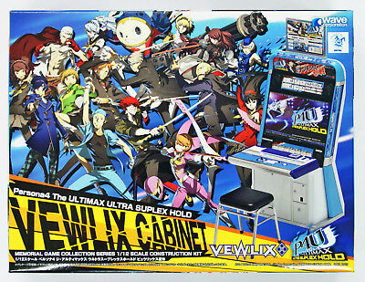 Wave GM015 Persona 4 The Ultimax Ultra Suplex Hold Vewlix Cabinet 1/12 Scale
