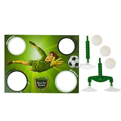 Novelty Kids Penalty Shoot Out Plastic Toy Bath Time Fairground Throwing Game