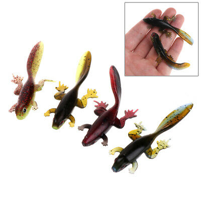 6pcs Attractive Tadpole Grub Bait Soft Worms Fishing Lure Fish Crab Fishing Bait