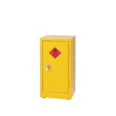 Hazardous Substance Storage Cabinet 28X14X12 inch C/W 1 Shelf Yellow 188737