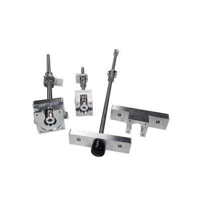 """Grizzly G0704 CNC Mill Conversion Kit W/ DUBL BALL NUTS .0015"""" BACKLASH ACCURACY"""