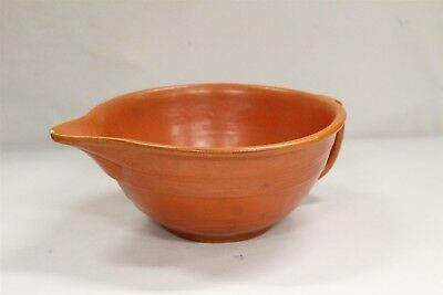 Pacific Pottery Radiant Orange Red Art Batter Bowl #301