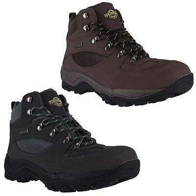 Mens NorthWest Hunter 2 Leather Trail Hiking Walking Lace Up Boots Sizes 7 to 12