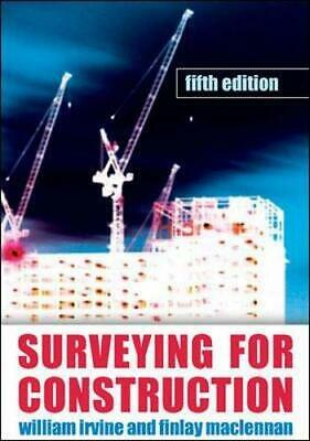 Surveying for Construction (UK Higher Educatio... by Maclennan, Finlay Paperback