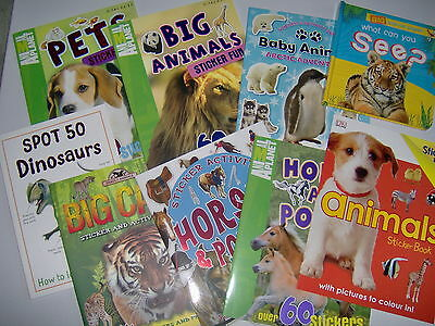 Children`s Sticker, Activity, Pop Up, Picture, Animal Books-Creative Gifts