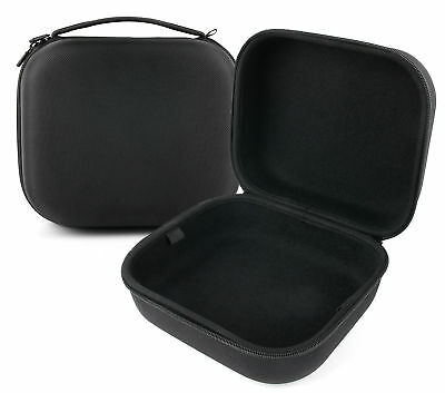Large Matte Black Tough EVA Storage Case for TaoTronics TT-BH22 Headphones