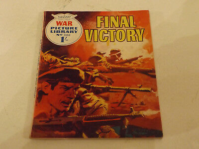 WAR PICTURE LIBRARY NO 340!,dated 1966!,V GOOD for age,great 51!YEAR OLD issue.