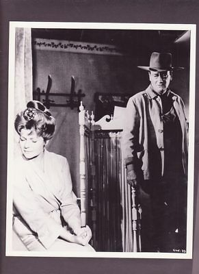 Original B&W Press Photo 10 x 8 John Wayne Rita Hayworth Circus World 1964