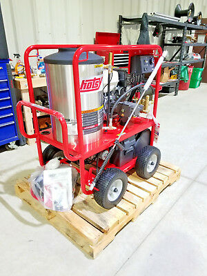 Hotsy 1075sse Gasoline Hot Water Pressure Washer