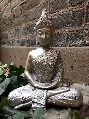 Beautifully Detailed Meditation Buddhas Statue For The Home Or Garden. From Sius