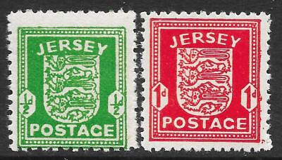 Jersey Wartime Issues (MNH)