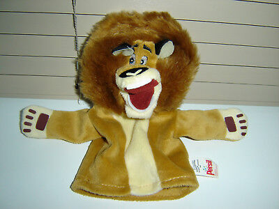 Alex The Lion From Madagascar Soft Hand Puppet Persil Promotional Item