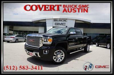 2017 GMC Sierra 2500HD Denali Crew Cab Pickup 4-Door 2017 GMC Sierra 2500HD Denali Leather 4X4 Sunroof Navigation Duramax Diesel