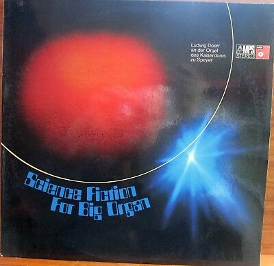 Lp - Ludwig Doerr = Science Fiction For Big Organ ....1970 (Jazz - Mps-Records)