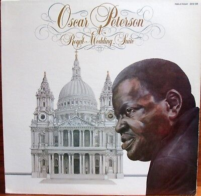 Lp - Oscar Peterson  = Royal Wedding Suite ......................1981 (Jazz Usa)