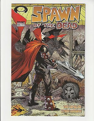 Spawn #223 NM McFarlane Homage to Walking Dead 1  1st Print  -  FREE SHIPPING