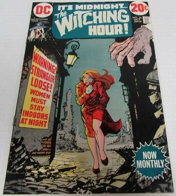 Witching Hour #24 (1972) DC Comics High Grade VF 8.0-8.5 Bronze Age CH038