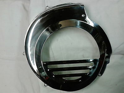 Vespa T5 T5 Classic Polished Stainless Steel Flywheel Cover.... NEW!!