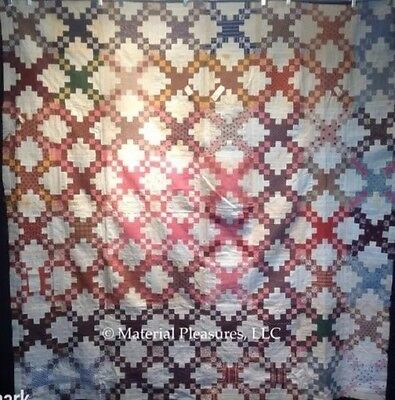 C1880 New Hampshire Quilt Top - Steps to the Light House