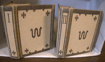 """""""The King Ranch""""-signed 2-volume set-by Tom Lea-limited Saddle leather edition"""