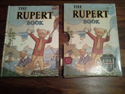 A Rupert Book Authentic 1941 Facsimile Edition Hard Back Good Condition