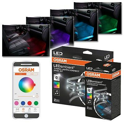 OSRAM LEDAMBIENT TUNING LIGHTS CONNECT BASIS KIT LED LEDINT102 APP iOS ANDROID