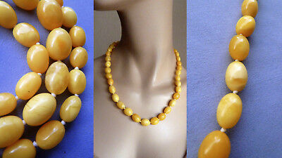 M7 老琥珀 25,9 g amber natural necklace butterscotch Natur Bernstein Bernsteinkette