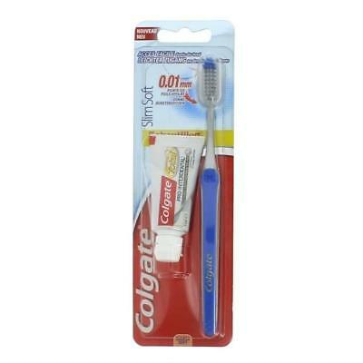COLGATE Brosse a dents SlimSoft - Souple