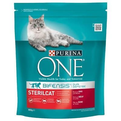 PURINA ONE Sterilcat Croquette pour chat - 8 x 85 g