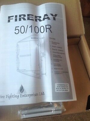 FireRay 100R Reflective Infrared Optical Beam Smoke Detector