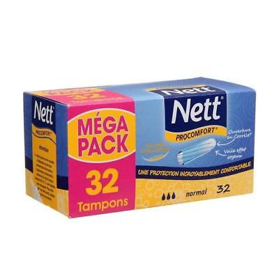 NETT Proconfort - Tampons - Normal - Lot de 32