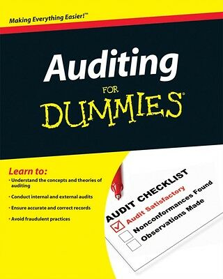 Auditing For Dummies (Paperback), Loughran, Maire, 9780470530719