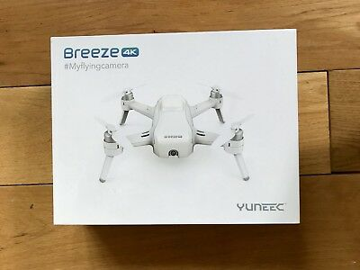 Yuneec Breeze 4K Drone - Flying Camera *sealed in box*