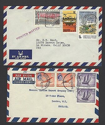 Singapore 4 covers to USA or UK