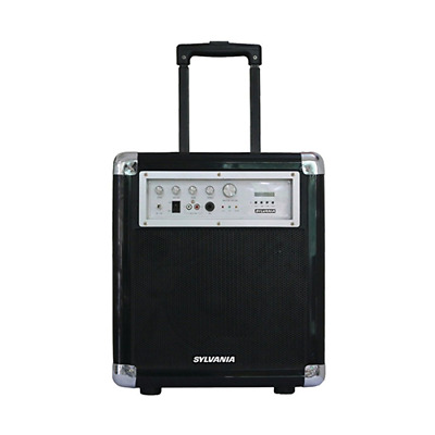 Sylvania SPA021 Bluetooth PA System with Microphone and FM Radio