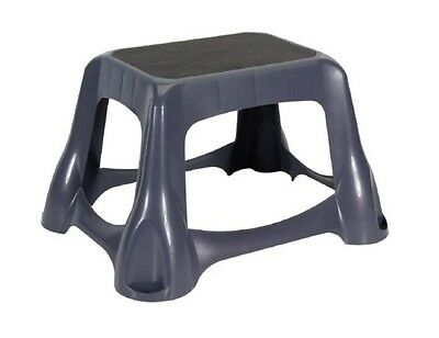 Super Rubbermaid 4B38 00 Large Step Stool Non Skid Dark Gray New Gamerscity Chair Design For Home Gamerscityorg