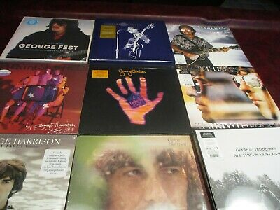 George Harrison All Things Material Brainwashed & Early Takes Limited 17 Lp Set