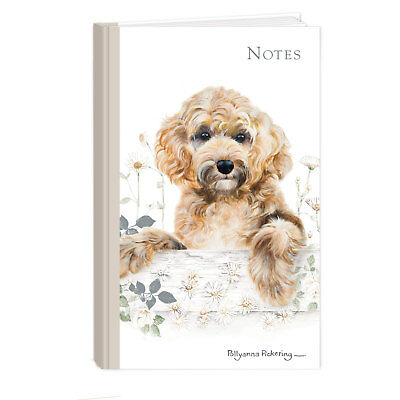 Quality Cockapoo Breed of Dog Hardcover Lined Notebook A6 Perfect Gift
