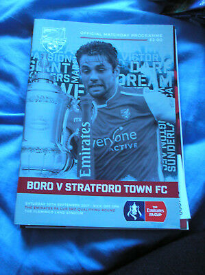 Scarborough Athletic V Stratford Town 2017/18 Fa Cup