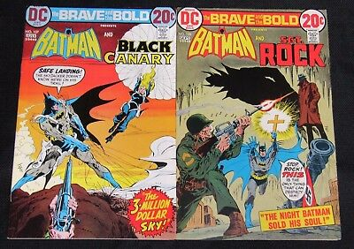 Brave and the Bold #107 & 108 (1973) High Grade VF/NM 9.0-9.2 CA948