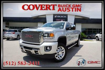2017 GMC Sierra 2500HD Denali Crew Cab Pickup 4-Door 2017 GMC Sierra 2500HD Denali Silver Leather Navigation 4X4 Sunroof Duramax