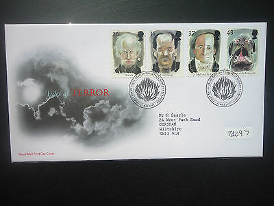 Great Britain 1997 Tales Of Terror (Bureau SHS) First Day Cover