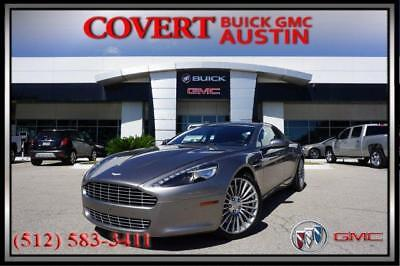 2011 Aston Martin Rapide Base Sedan 4-Door 2011 Aston Martin Rapide Luxury Leather Paddle Shifters Power Accessories