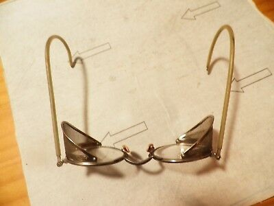 Vintage Safety Glasses With Folding Side Shields
