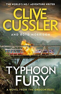 Typhoon Fury: Oregon Files #12 (The Oregon Files) by Morrison, Boyd Book The