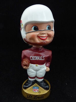 1960's Nfl Football St. Louis Cardinals Bobble Head