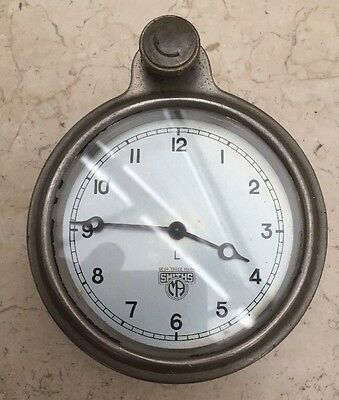 Antique Car Clock - Instrument Panel - Smiths