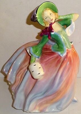 "Vintage ROYAL DOULTON Porcelain 7.5"" AUTUMN BREEZES #HN1911 FIGURINE~LOT #2!"