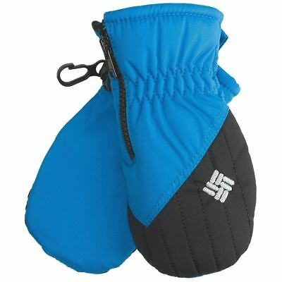 NEW Columbia Omni Shield Insulated Infant Mittens One Size 6M -18M  Zipper